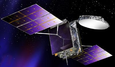 Bsat-3b satellite in orbit