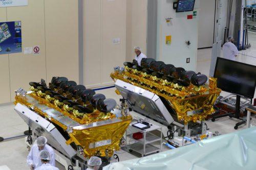 O3b satellites prepared for launch