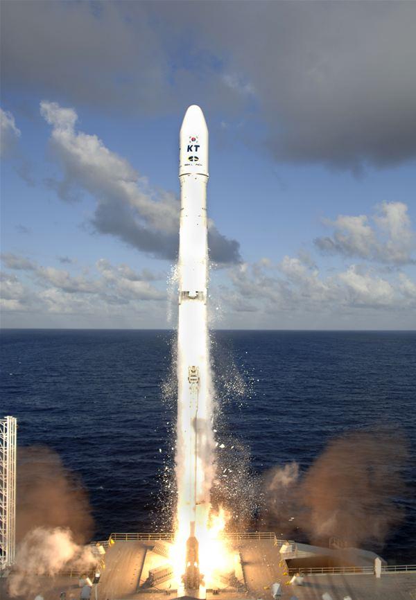 Sea Launch launching KoreaSat-5 satellite for KTSat
