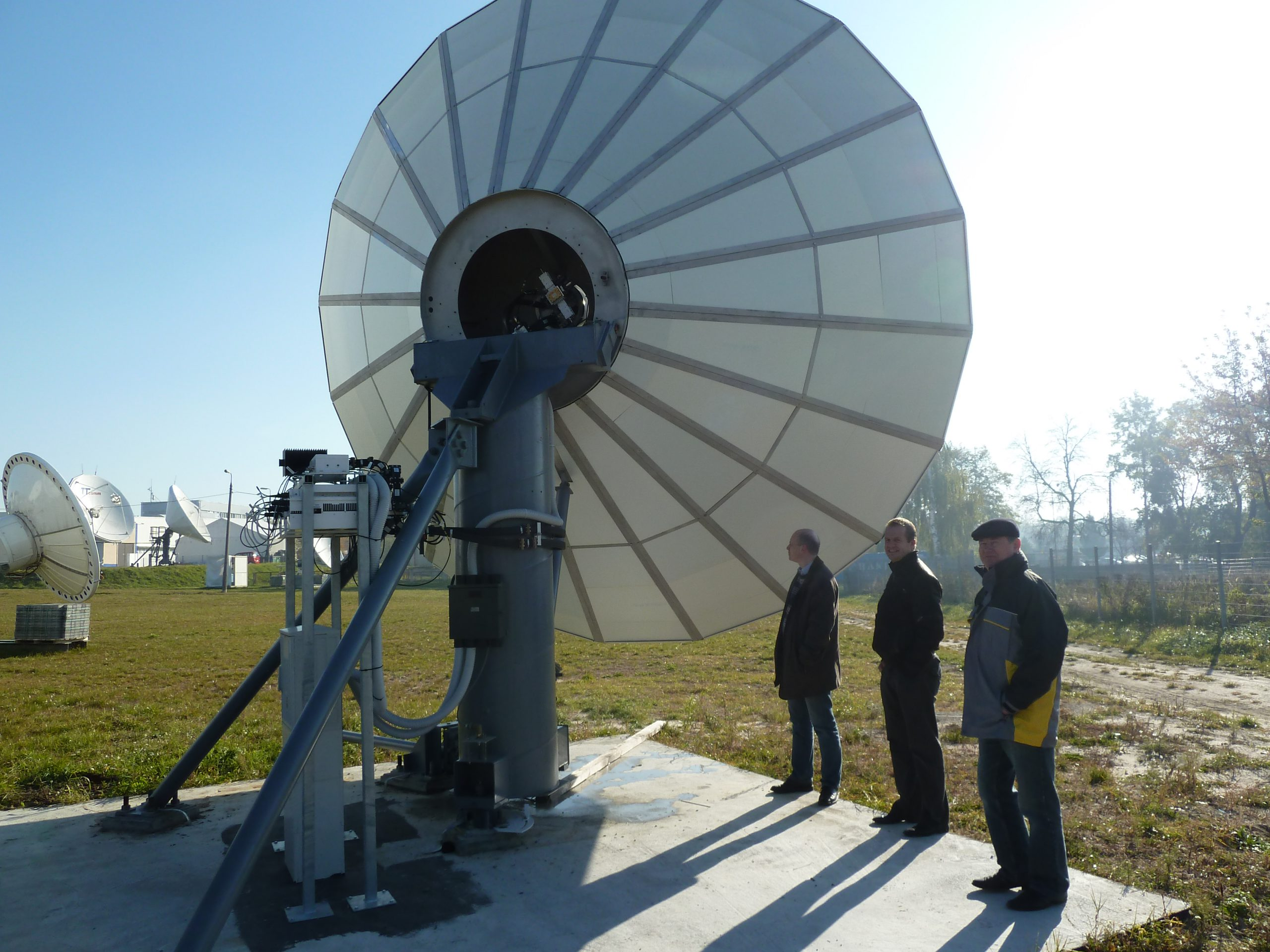 Skybrokers installed a VertexRSI 8.1m antenna in Poland