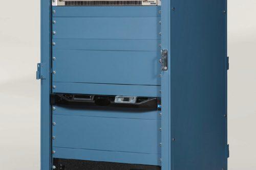 Viasat 4.5m MEOLink Ka-band Antenna indoor rack