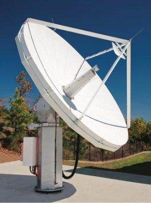 Viasat 4.5m Ka-band MEOLink Antenna