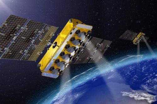 O3b satellites in orbit
