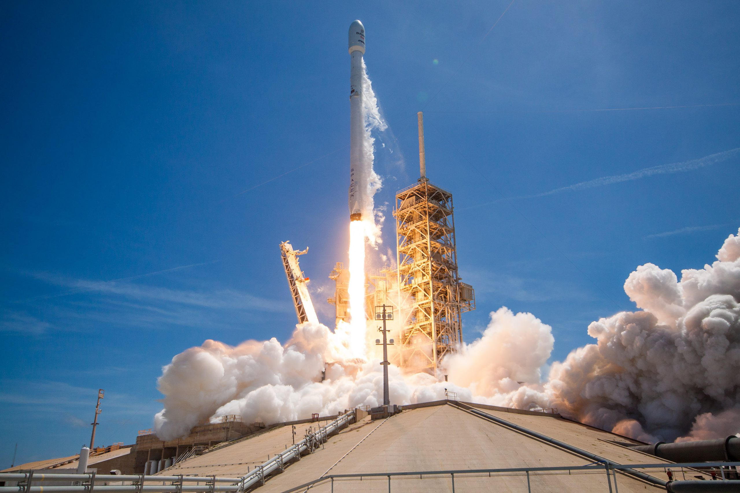 BulgariaSat-1 launched on a SpaceX Falcon 9 rocket