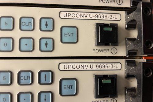 Miteq Upconverter U969-3L lable
