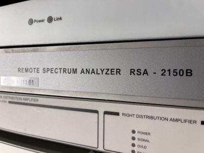 AVCOM Remote Spectrum Analyzer RSA-2150B