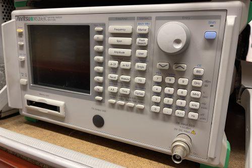 Anritsu Spectrum Analyzer MS2663C front view