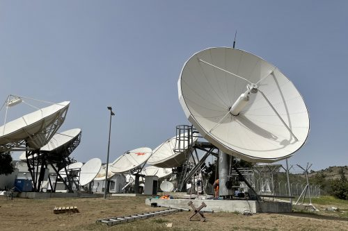 VertexRSI 6.3m Ku-band antenna