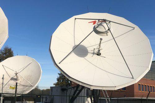 De-installation DMC/TVT Teleport in Helmond, The Netherlands