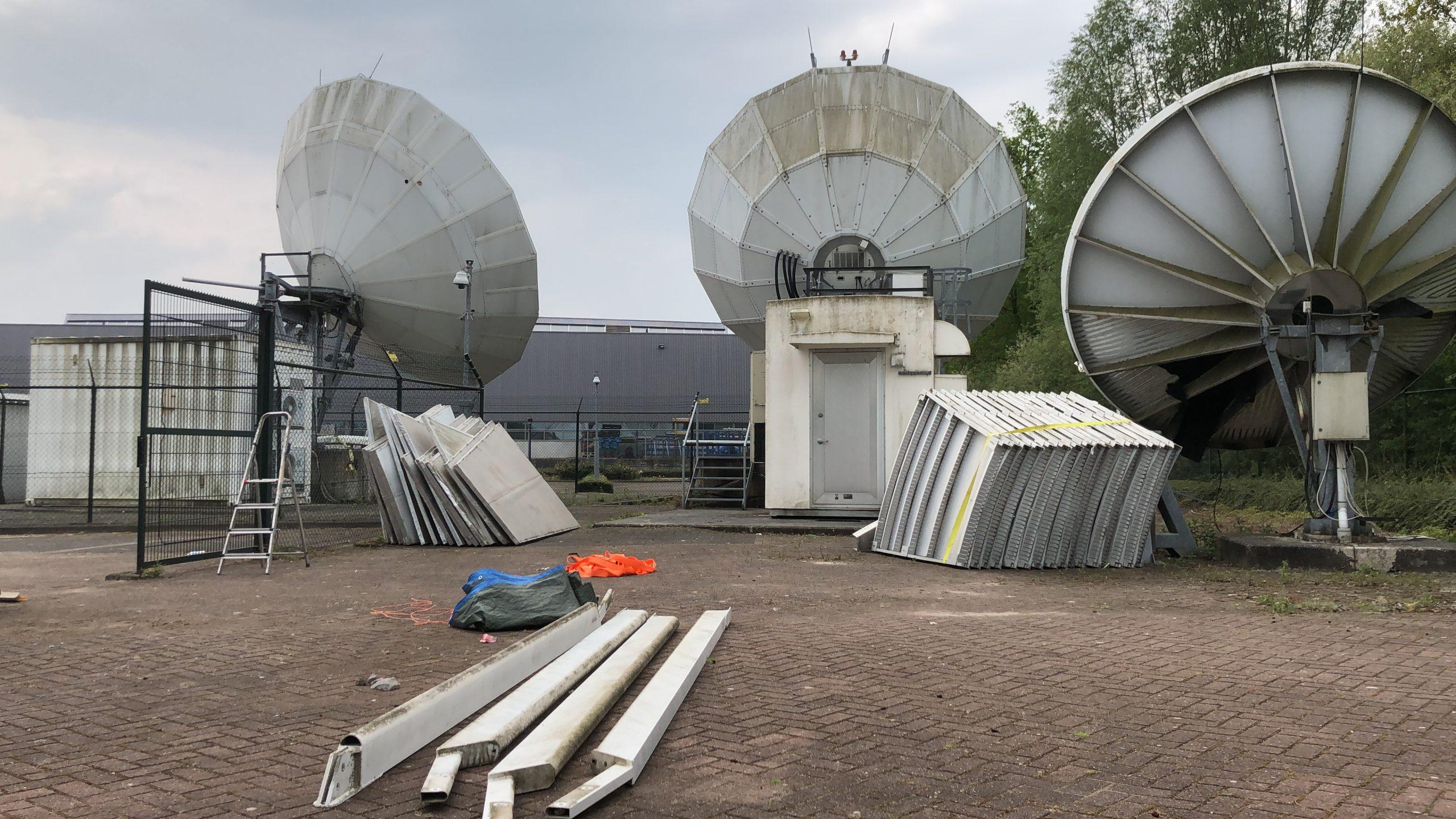 Skybrokers de-installed DMC/TVT Teleport in The Netherlands