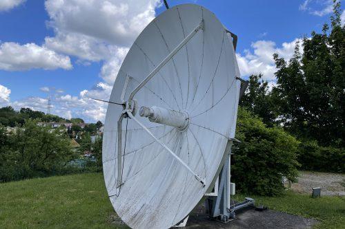 VertexRSI 4.8m C-band antenna