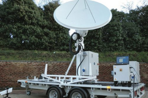 Comtech MCT Transportable X/Y Tracking Antenna System