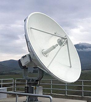Kratos 3.5m LEO/MEO XY Earth Station Antenna