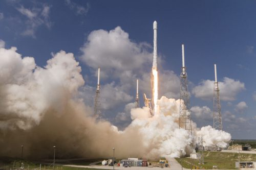 SpaceX' Falcon 9 launches ABS-2A