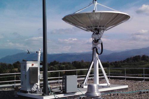 TCS (Comtech) X/Y Tracking Antenna System Type-2