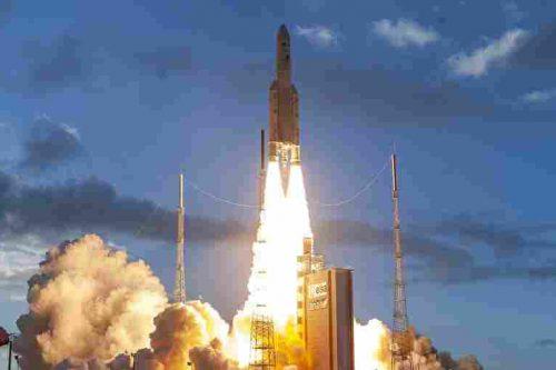 Ariane 5 launching Star One D2