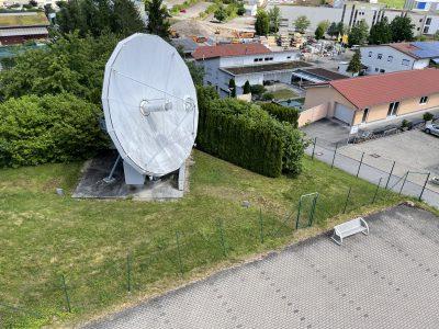 VertexRSI 8.1m Ku-band Earth Station Antenna