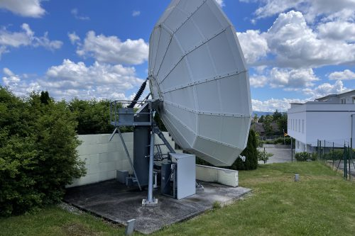 VertexRSI 8.1m C-band Earth Station Antenna