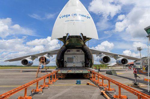 Star One D2 satellite arrives at Kourou