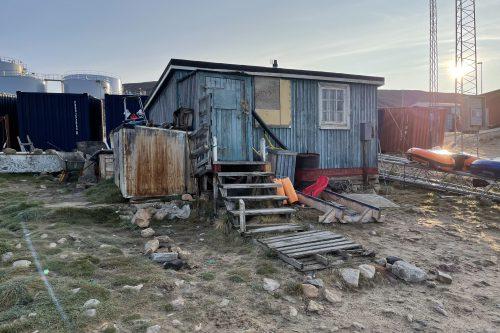 Typical House in Qaanaaq Greenland